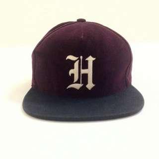 HUF酒紅色棒球帽(含運)