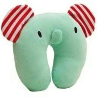 🚚 憂傷馬戲團大象薄荷小象各式U枕頸枕飛機旅遊居家
