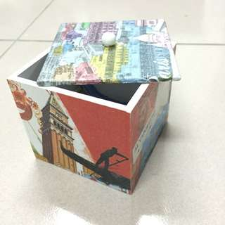 美式塗鴉糖果盒