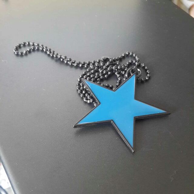 🎡星星長鍊(雙面藍)