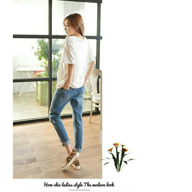 韓版牛仔褲