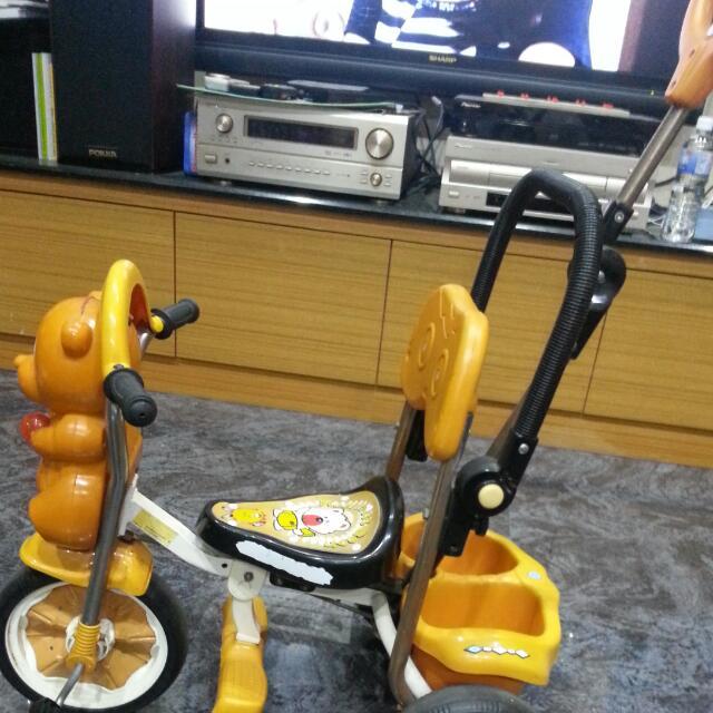 親子兒童三輪腳踏車