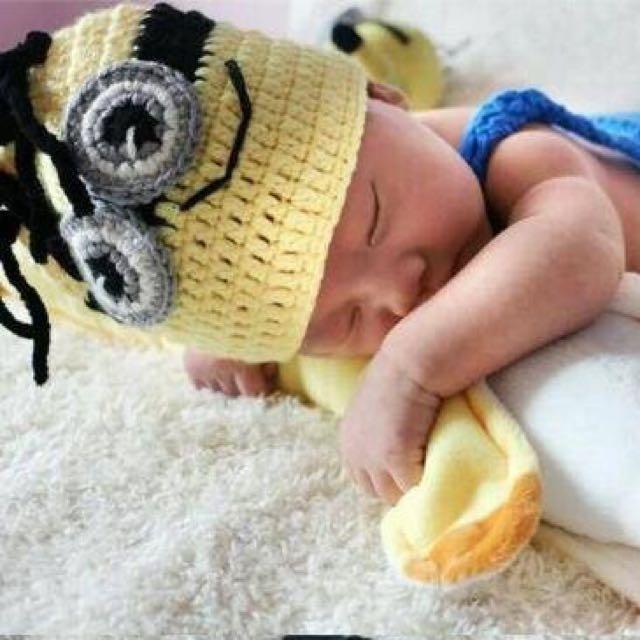 小小兵 童裝 拍照服 造型服 針織