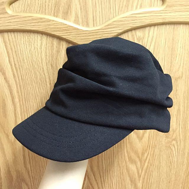 全新 黑色休閒帽