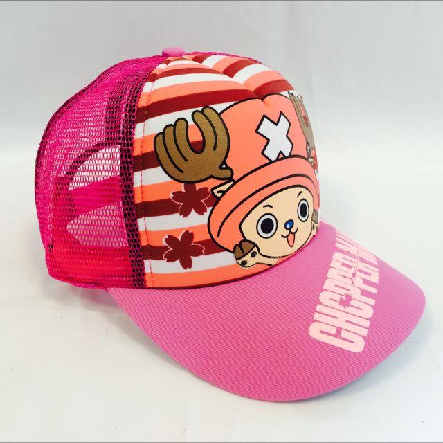 海賊王 喬巴 粉紅(代客訂製各式專屬帽子)潮流帽子 鴨舌帽 潮帽