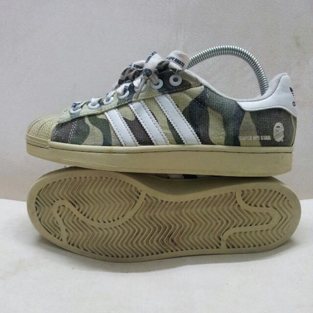 2786913f5de0 Bathing Ape X Adidas Superstar
