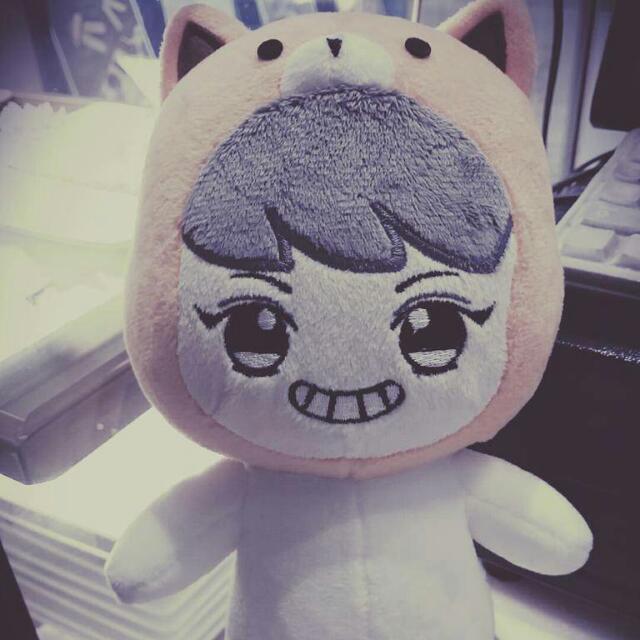 急!!!非常急!!!售EXO玩偶 娃娃 博美燦烈 朴燦烈 EXO