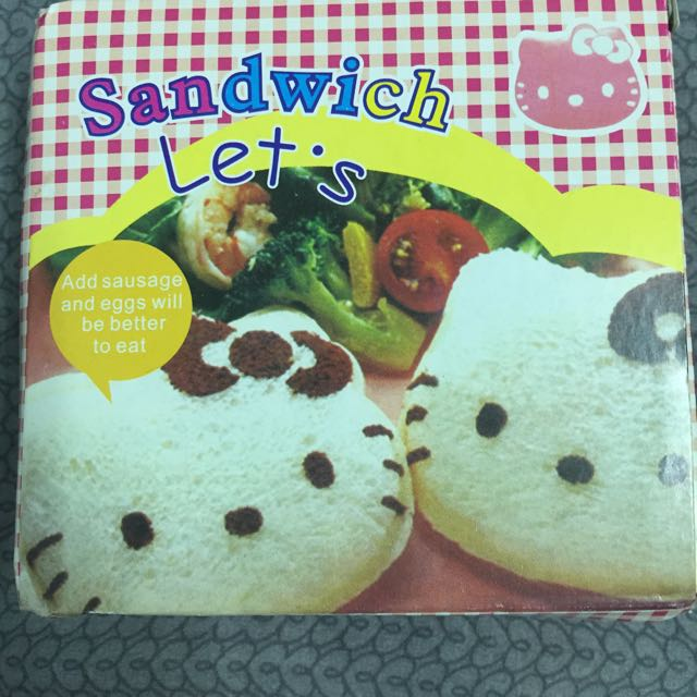 Hello Kitty 三明治產生器