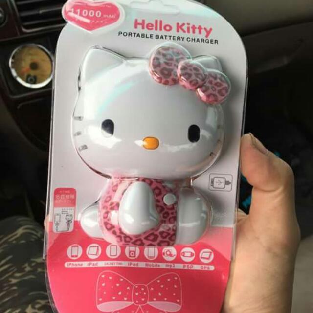 Kitty豹紋造型 行動電源
