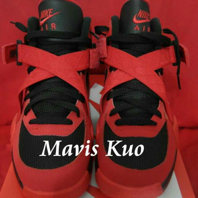 Nike AIR RAIF 紅 【買到賺到】降 歡迎買回去驗鞋 假鞋我退費