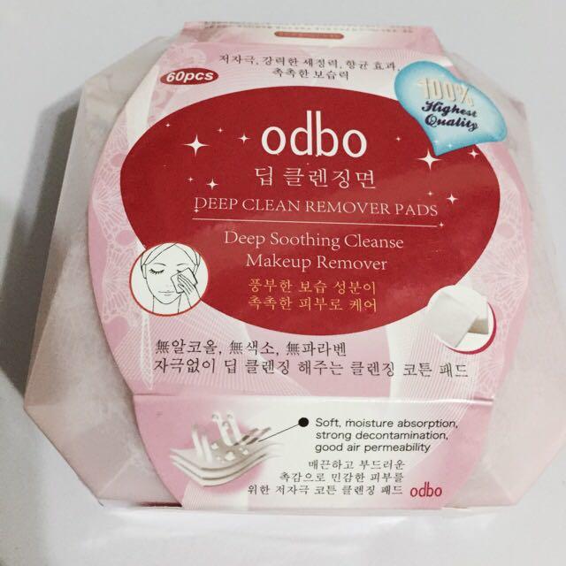 泰國Odbo 卸妝巾