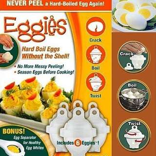 [Brand New] Hard Boiled Egg System 6 Eggies