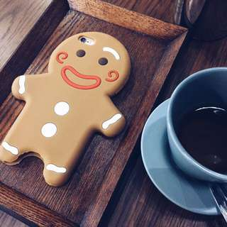Gingerbread man iPhone 6 casing
