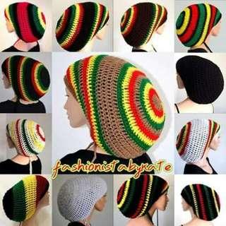 SLOUCHY RASTA HAT