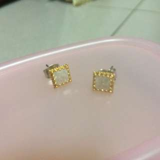 韓國🇰🇷氣質方形耳環