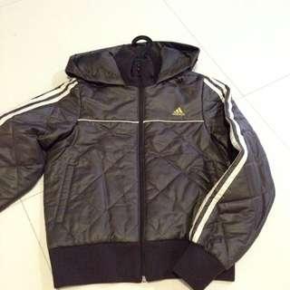 e020cea6cd98 Adidas Ladies Kids Girls Adult Women Boys Original Brown Winter Jacket