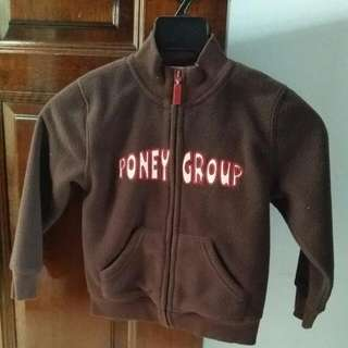 Pony Jacket For Kids 4-5 Years Old.