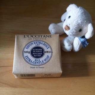 L'OCCITANE 歐舒丹乳油木牛奶皂100g