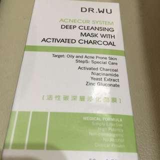 Dr.Wu-活性碳深層淨化面膜