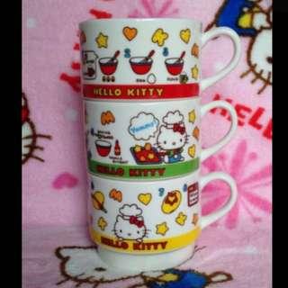Hello Kitty Stackable Ceramic Drinking Mug (set of 3 designs) #17