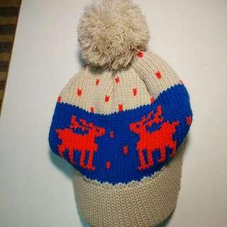 糜鹿針織毛帽