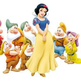 (收購)迪士尼 Disney 白雪公主 Snow White 周邊商品 公仔