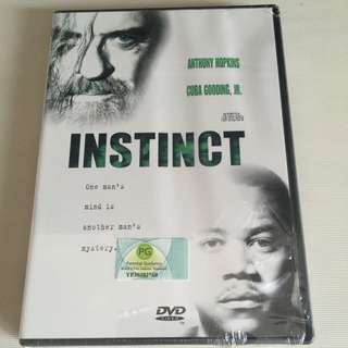 Instinct Original DVD (unopened)