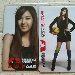 Set Of 2 Seohyun Snsd Cards