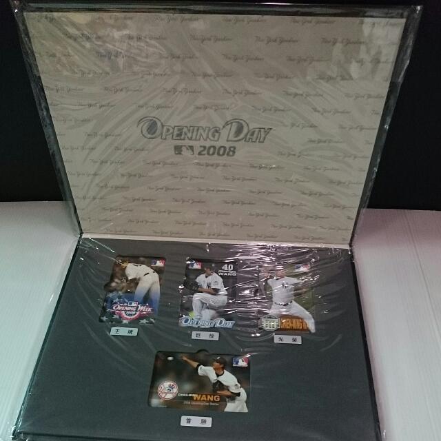 王建民悠遊卡『2008開幕先發版』