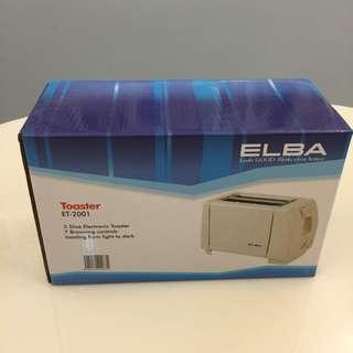 [Brand New] ELBA Toaster ET-2001