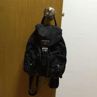 backpack authentic prada  0d6b3f0e83a76