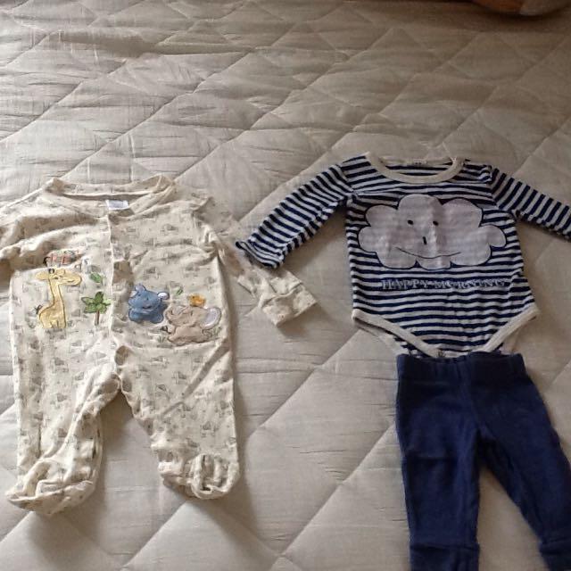 2手冬季嬰幼兒衣服