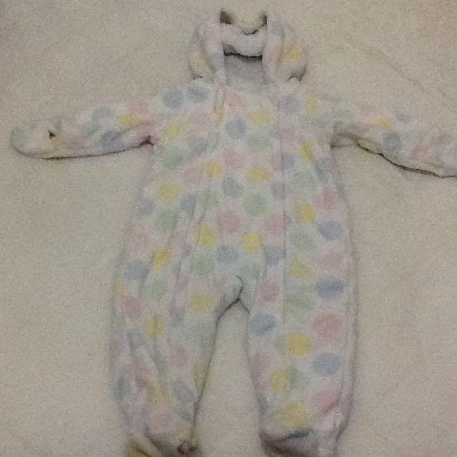 2手冬季嬰幼兒衣服(厚)