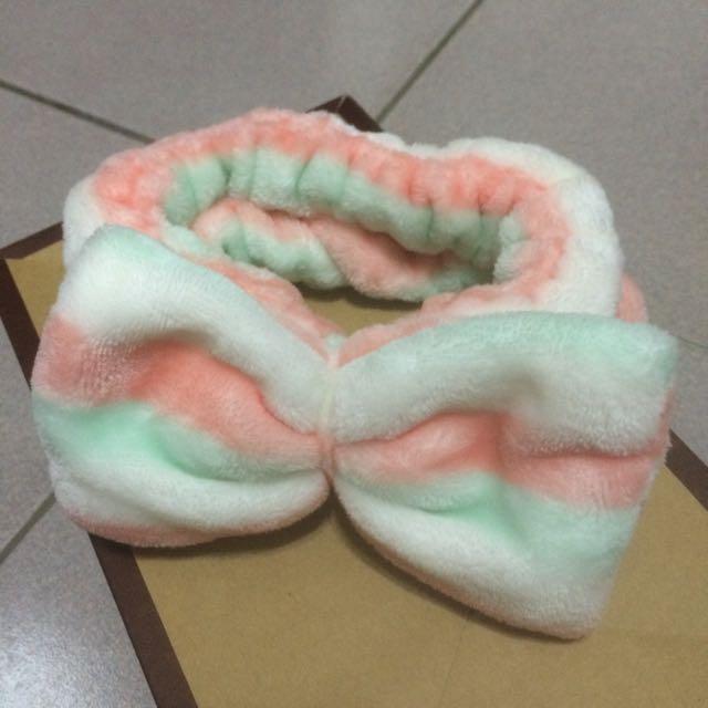 韓國🇰🇷珊瑚絨髮帶