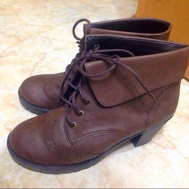 反折短靴😋😋