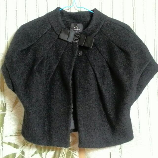 黑色小罩衫
