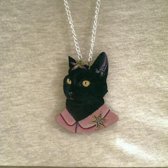 貓咪長項鍊