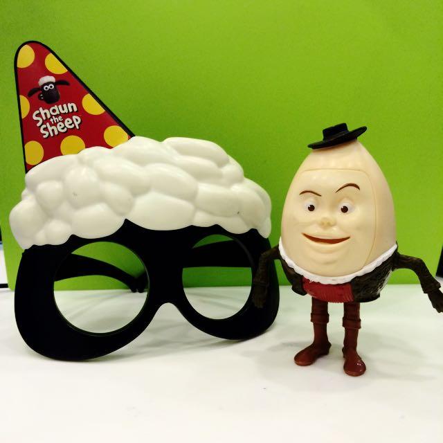 喜羊羊眼鏡,蛋頭人