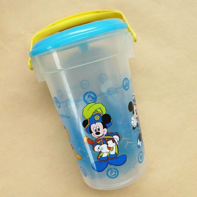 出清)日本迪士尼 絕版 爆米花桶 米奇 唐老鴨 高飛