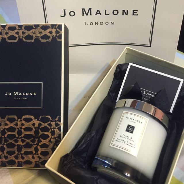 英國名牌 Jo Malone 奢華迷人香氛蠟燭
