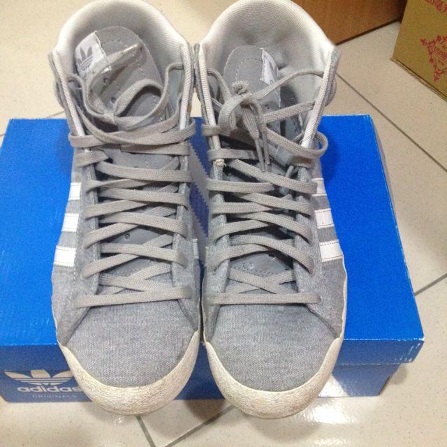 Adidas 愛迪達 高筒休閒鞋