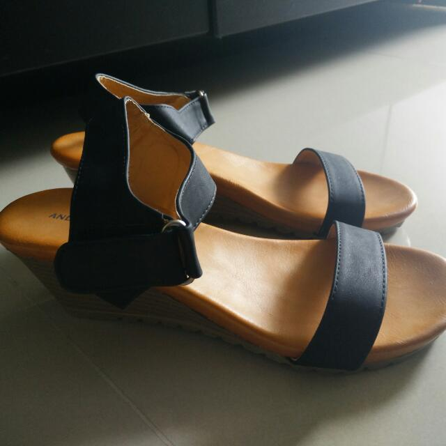 Andrea Moda Wedges Shoe Size 36