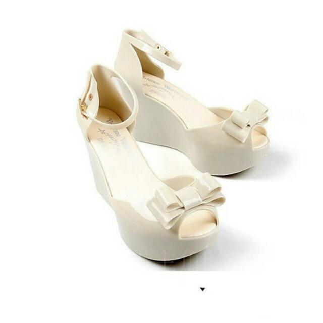 Brand New Heels In Cream Size 35