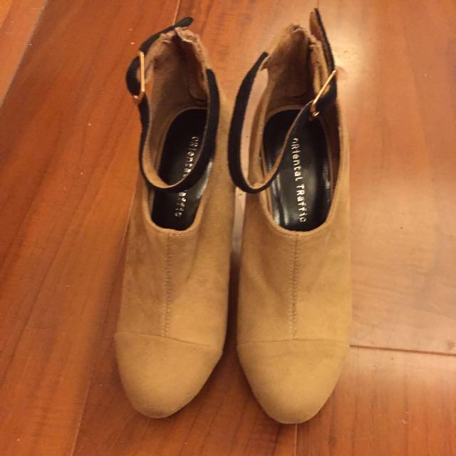 Oriental Traffic踝靴