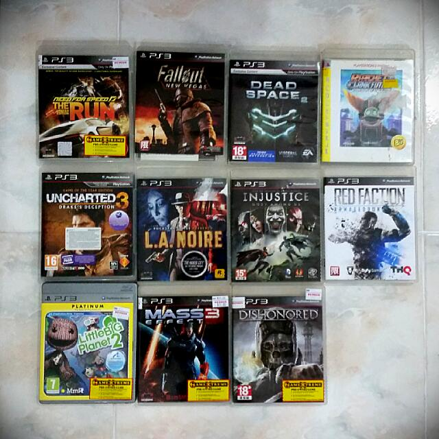 Used PS3 Games Clearance