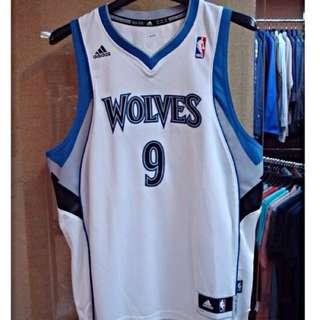 NBA WOLVES 9球衣