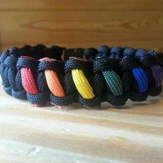 LGBT paracord Bracelet