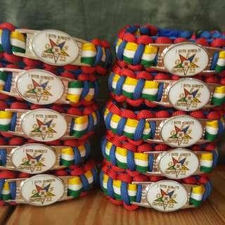OES paracord Bracelets