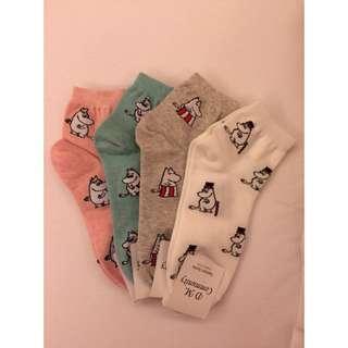[全新]Moonmin 嚕嚕米X襪襪
