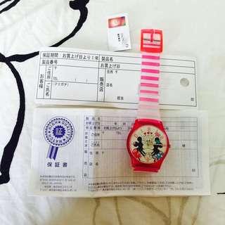 全新日本迪士尼米奇米妮手錶
